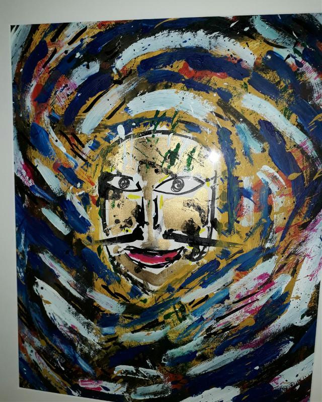#freetoedit #face #eyes #expressionism #white #black #yellow #blue #moustache #mixedmedia #happy #bouche #expressionism #expression #art #acrylic #painter #painting #artistic #painted #paintings #modernartist #contemporaryart #contemporaryartist #artiste #artmoderne #artgallery #artexhibition #modernart #framedart #framedpainting