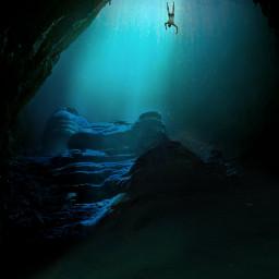 freetoedit underwater dailyremixmechallenge picsart myedit