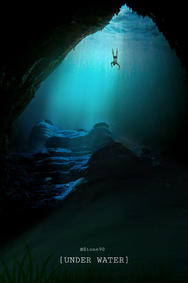 #freetoedit #underwater #dailyremixmechallenge #picsart #myedit #madewithpicsart