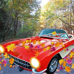 freetoedit автомобиль autumn осень