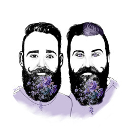freetoedit thegaybeards duos ircmovemberkickoff movemberkickoff