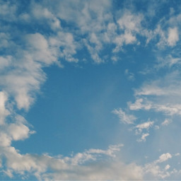 freetoedit clouds blue sky blueskywithclouds
