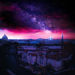 picsart galaxy fantasy light