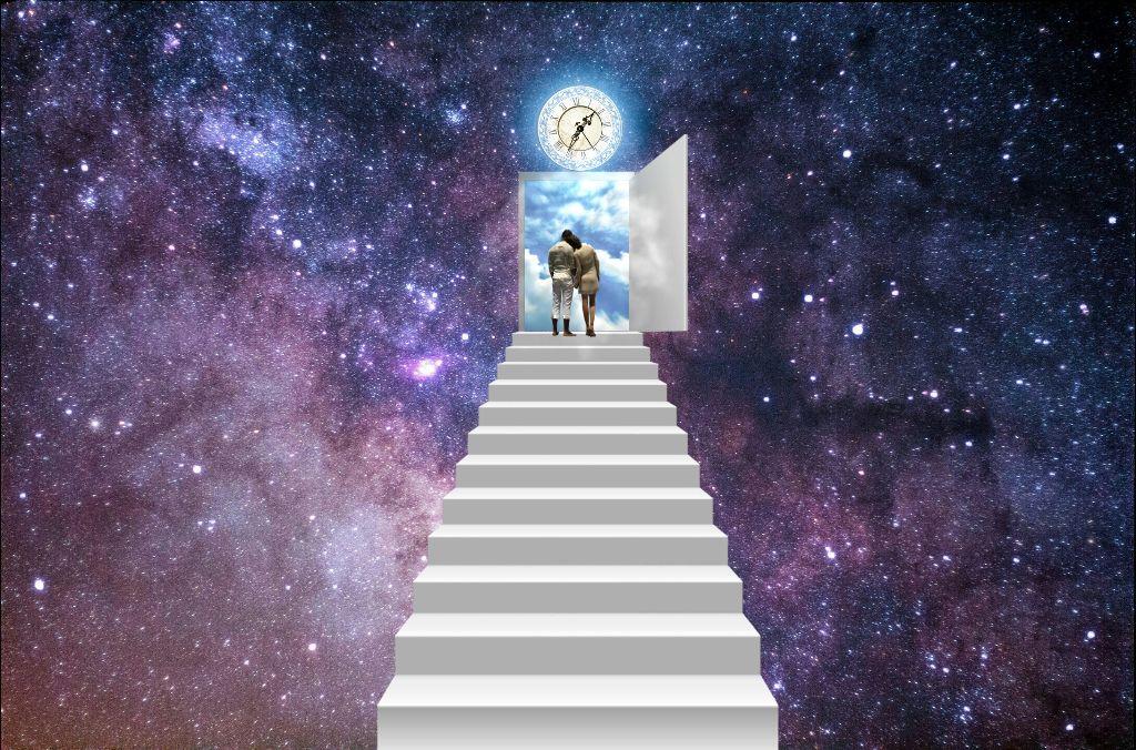 #freetoedit #ladder #galaxy #watch #people #doorsky