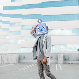 freetoedit robot robots robotic remix