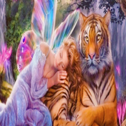 freetoedit girl tiger leaf ircautumnleaf