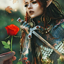 freetoedit lovewins womanwarrior strongwomen tattooed ircautumnleaf