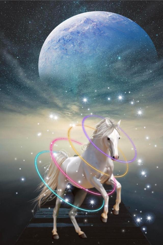 A Beautiful Dream Good Night my friends 🎇 #freetoedit