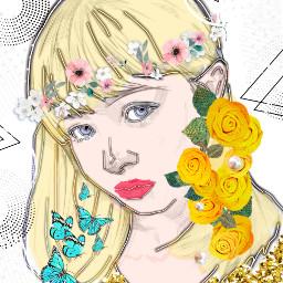 freetoedit artgirl girl art be_creative ircdrawingofayounglady