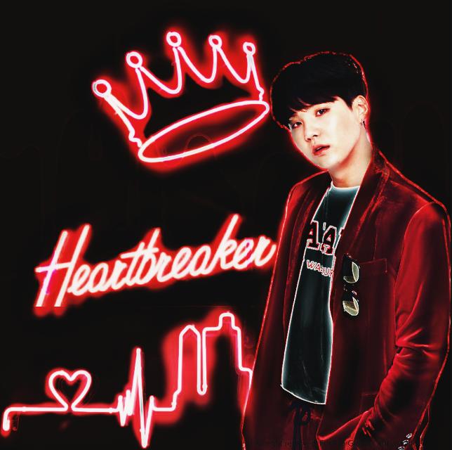 Yoongi  neon edit  Thanks to @loved_graphics tutorial ❤❤ #yoongi #neon #suga #bts #bangtanseonyeondan #kpop  #freetoedit