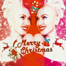 freetoedit christmas gwenstefani festive ecgwenstefanichristmas