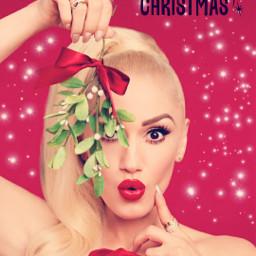 freetoedit gwenstefani christmas youmakemesmile music ecgwenstefanichristmas