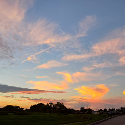 freetoedit pcbeautifuldays sunset sky blue