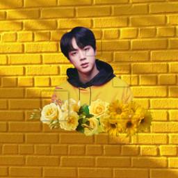 freetoedit yellow aesthetic arthoe bts