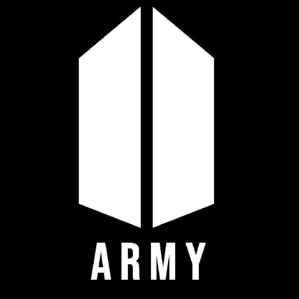 army logo armylogo whitearmylogo btsfandom btsarmy love