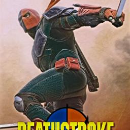 freetoedit deathstroke dc arrow arrowverse