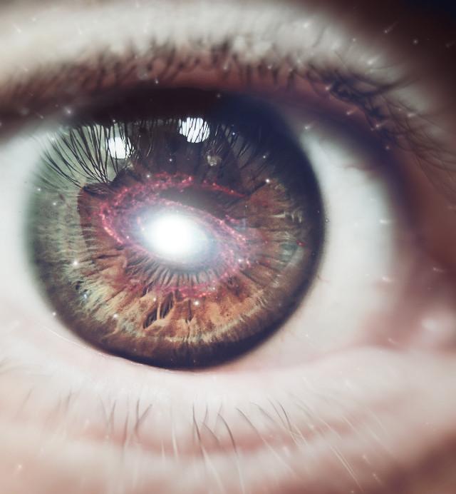#freetoedit #eye #galaxy #surreal #picsart #nature #blur #radialblur #glare #stars #pupil #doubleexposure #madewithpicsart #picsartlife