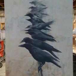 birds animalart pastels