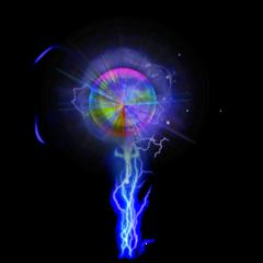 light purple prism thunder ball
