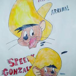 speedygonzales looneytunes speedy cartoon animation freetoedit