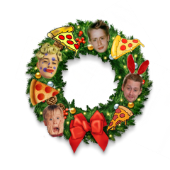 macaulayculkin homealone wreath christmas holidays freetoedit