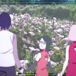 freetoedit sasusakusara anime sasusaku sakura