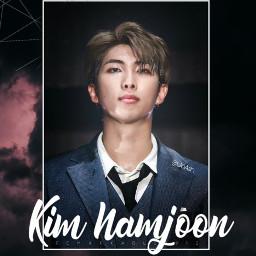freetoedit namjoon kimnamjoon rm bts
