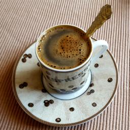 espresso hot coffee cup spoon pchotdrink