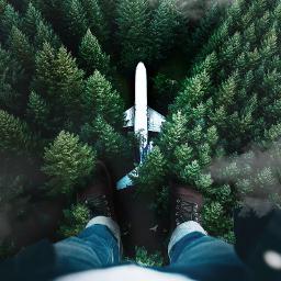 myedit airplane interesting awsome surreal freetoedit
