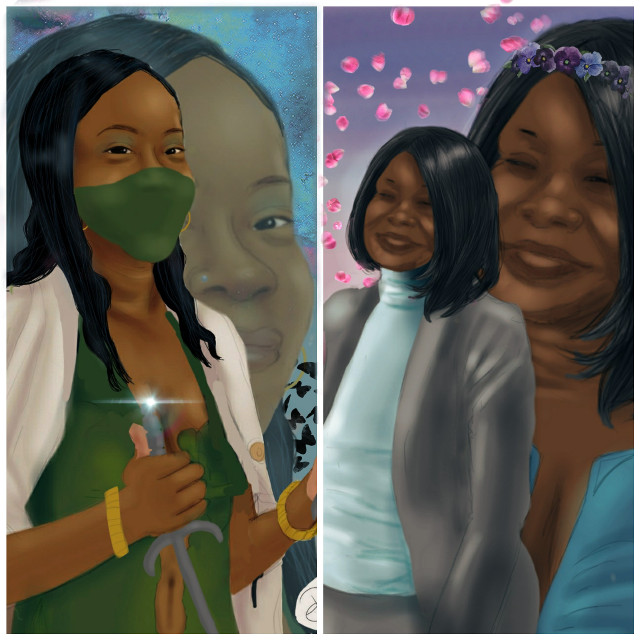 They are beautiful, strong, and intelligent. When these women  of the under Care Unit get together, problems get solved. Black cherry is a former police Sergeant whose detective skills solved many of crimes. She now uses her skills to solve some of the most unsolvable crimes in the city. Terry is a ninja from the clan of the circle. She formally trained with the Red Road, and is known for her intense fighting style and never give up nature. These two are the first to join the unit, but in season one we will learn soon who the other members are. #drawing #portrait #people #Superhero #girl #cute #comic