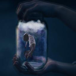 freetoedit surreality levitation glass galaxy eclevitation