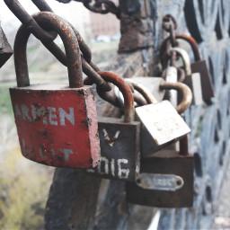 freetoedit pclocksandkeys locksandkeys locks rustymetal pcstreetphotography pcbridgephoto