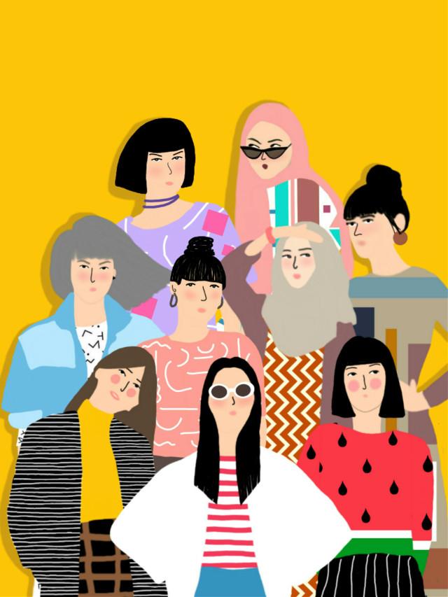 #dameliad #sketch #girlpower #girltumblr #woman #vogue