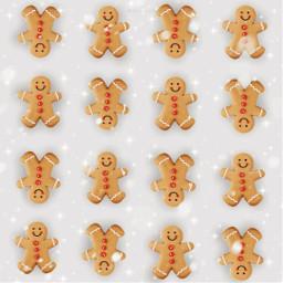 freetoedit echolidayoutline snowbrush backgrounds cookies