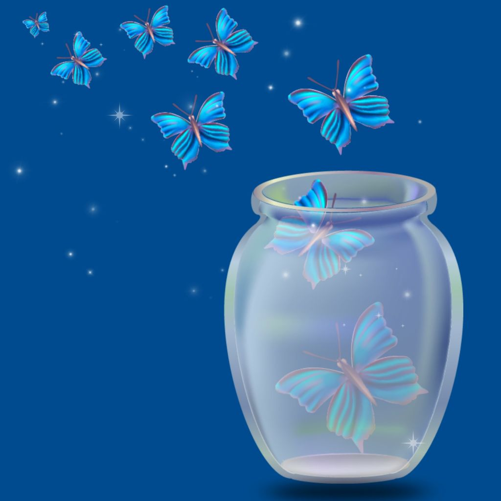 #freetoedit #background #wallpaper #jar #glass #butterflies #sticker #brushtool #sparklebrush  #keepitsimple #myedit #madewithpicsart