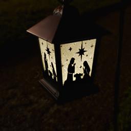freetoedit pclight lantern nativity christmas
