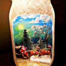 freetoedit christmas sleigh reindeers animal