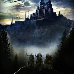 freetoedit warriors war castle picsart ircmistyroad