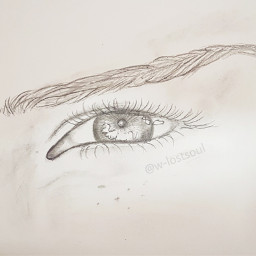 art eyeart eye draw drawing