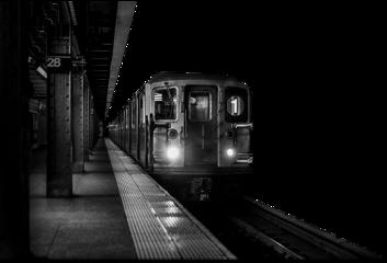 train platform station blackandwhite freetoedit