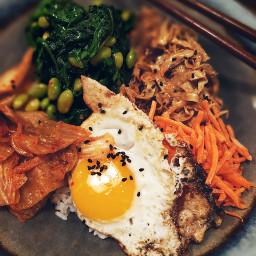 vegetarian bowlfood bibimbap koreanfood rice