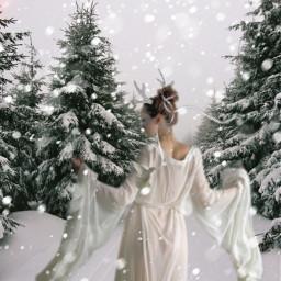freetoedit winter wallpaper christmas snow