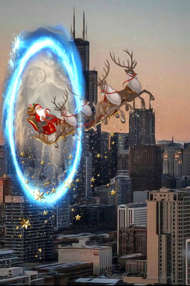 #freetoedit #christmasart #fantasyart #fantasy #makebelieve #imagination