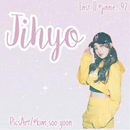 twice jihyo jihyotwice k-pop kpopedition freetoedit