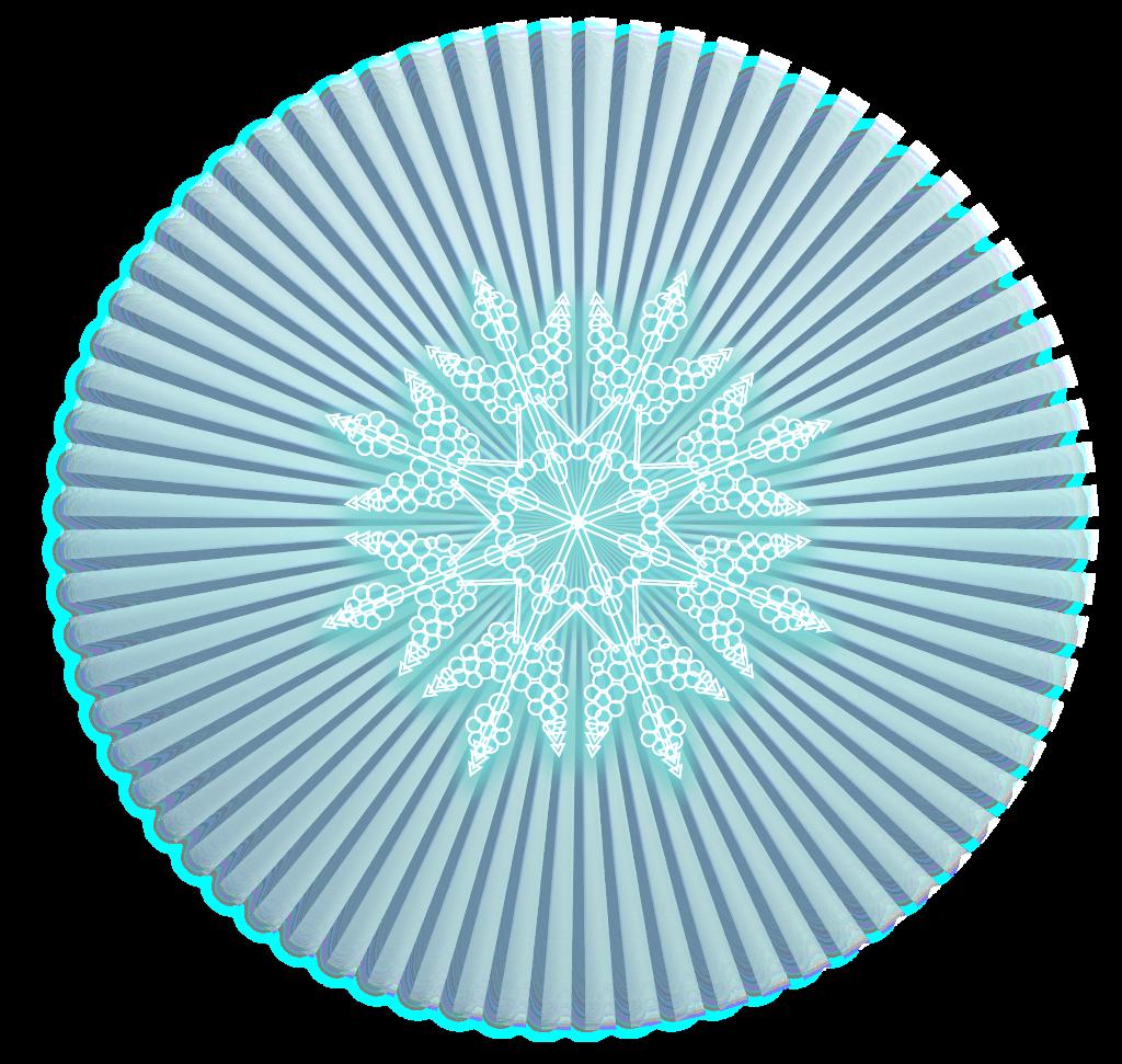 #ftestickers #snow #snowflake #luminous #glowing
