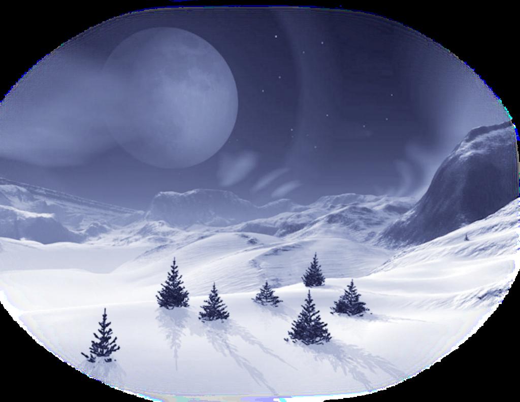 #ftestickers #landscape #snow #trees