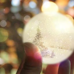 freetoedit snowglobe whitechristmas ircwhitechristmas