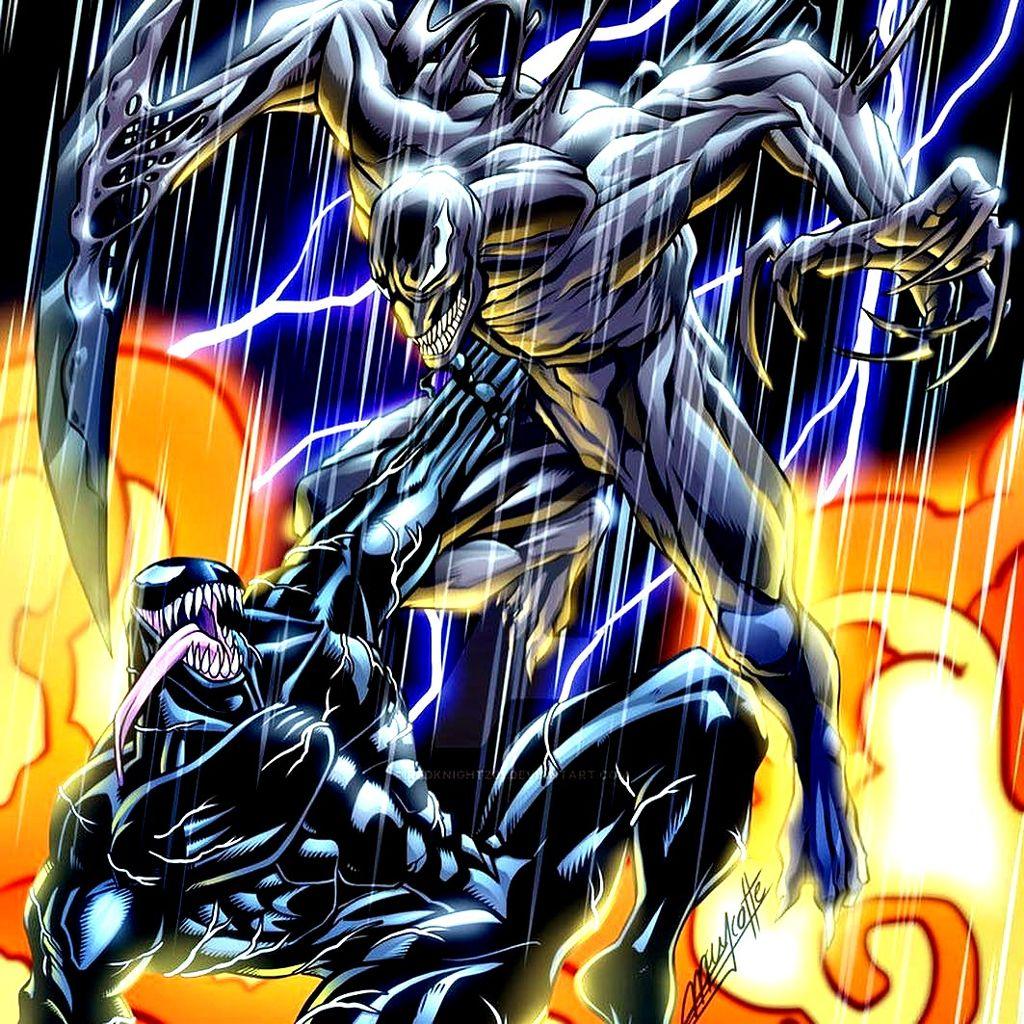 Venom Vs Riot venom venommovie venom2018 riot marvel so