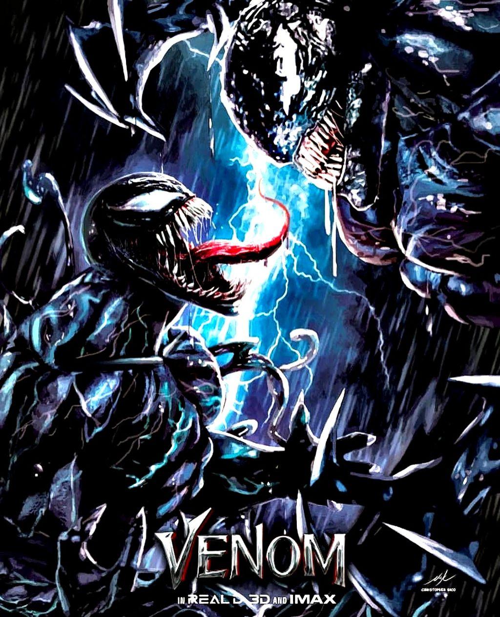 Venom Vs Riot! venom venommovie venom2018 riot marvel s