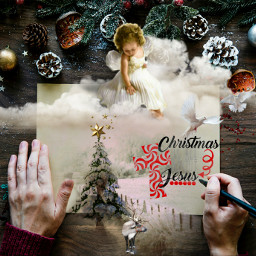 freetoedit ircchristmascard christmascard